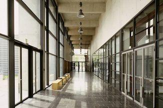 Erwin Schrödinger-Zentrum Informations- und Kommunikationszentrum der Humboldt Universtität zu Berlin in Berlin-Adlershof 2002
